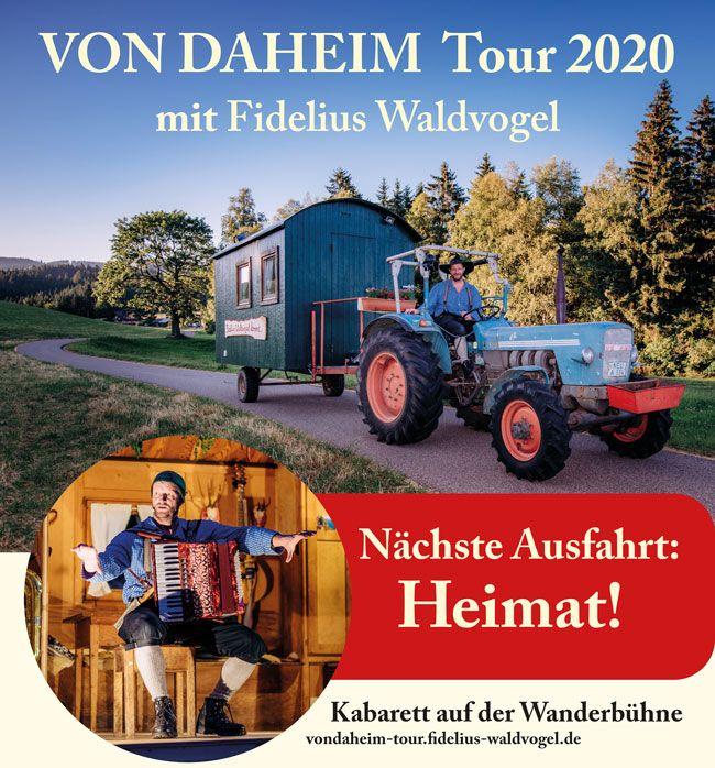 VON DAHEIM Tour 2020