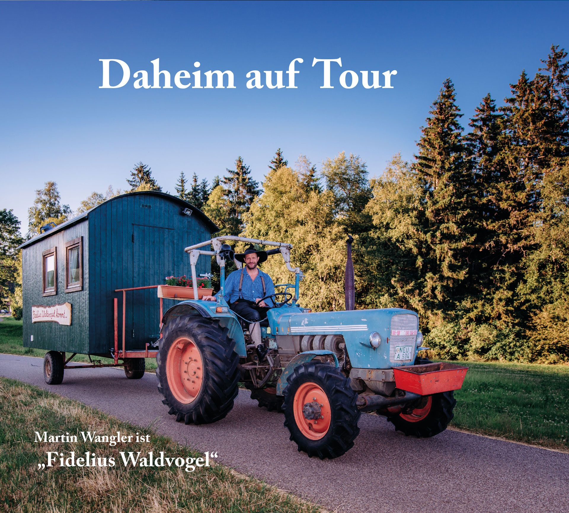 CD Daheim auf Tour